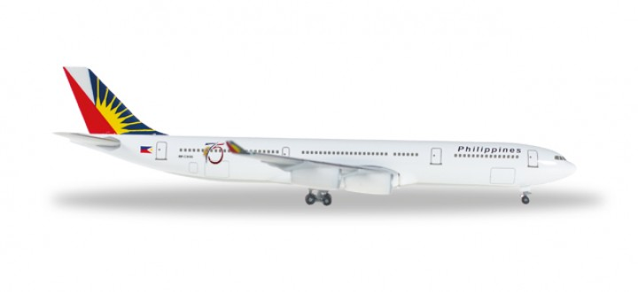 Philippines Airlines Airbus A340-300 Reg# RP-C3439 Herpa Wings 529341 Scale 1:500
