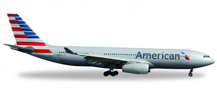 American Airlines A330-200 Reg# N292AY Herpa 529648 Scale 1:500