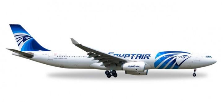 Egypt Air Airbus A330-300 Reg# SU-GDU Herpa Die-cast 529846 Scale 1:500