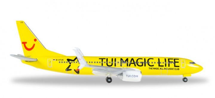 "Tui Boeing 737-800 Scimitar Winglets ""Magic Life"" Reg D-ATUG 529860 Scale 1:500"
