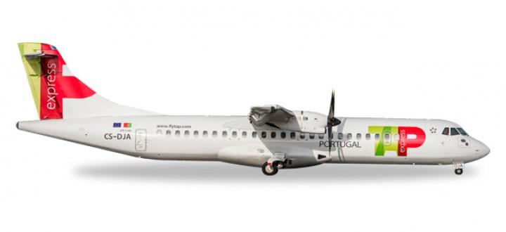 TAP Portugal ATR-72-600 Improved Mould Reg# CS-DJA Herpa 530064 Scale 1:500