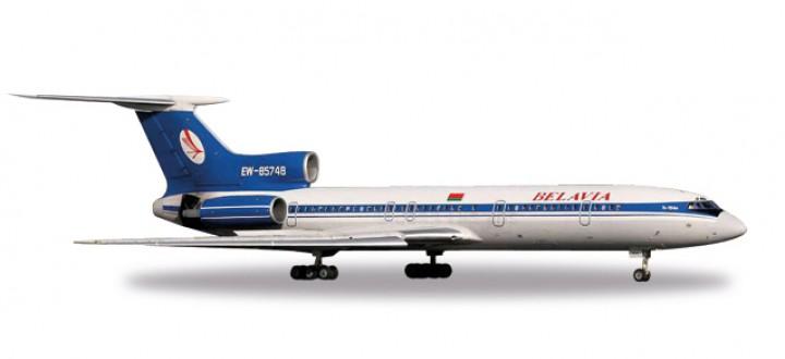 Belavia Belarus Tupolev TU-154-M Reg# EW-85748 Herpa 530071 Scale 1:500