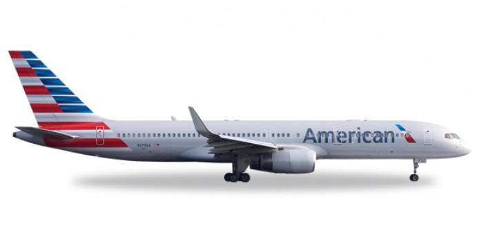 American Boeing 757-200 New Livery Reg# N179AA Herpa 530125 Scale 1:500