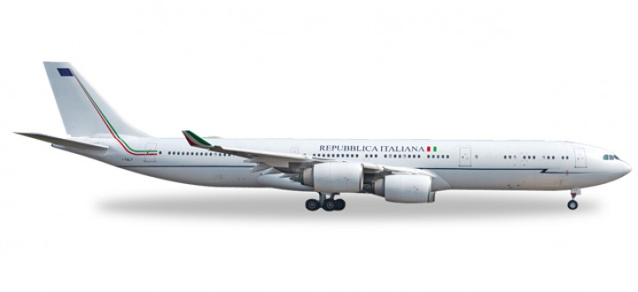 Italian Air Force Airbus A340-500 Reg# I-TALY Prime Minister Herpa Wings 530385 Scale 1:500