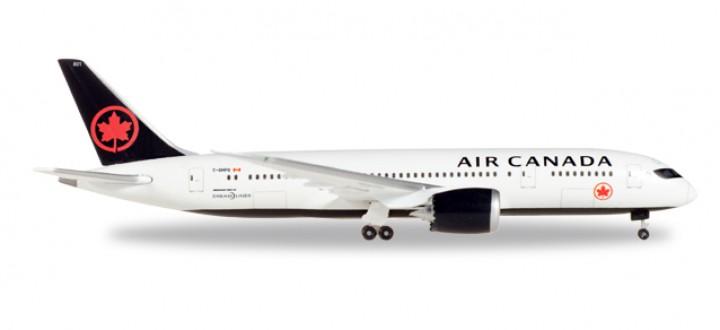 Air Canada New Livery Boeing 787-8 Dreamliner Reg# C-GHPQ Herpa 530613 Scale 1:500