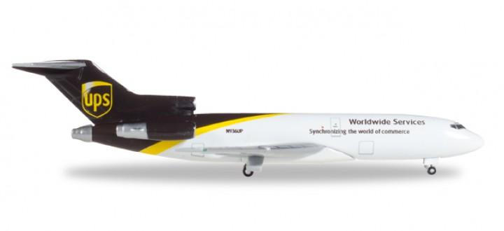 UPS Boeing B727-100C registration N936UP Herpa 530873 Herpa Scale 1:500