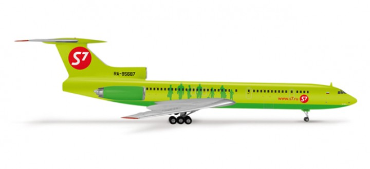 S7 Airlines Tupolev TU-154M RA-85687