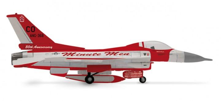 USAF Lockheed F-16C HE554725 Miute man