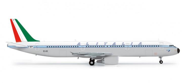 Alitalia Retrojet Airbus A321 HE555166 Scale 1:200