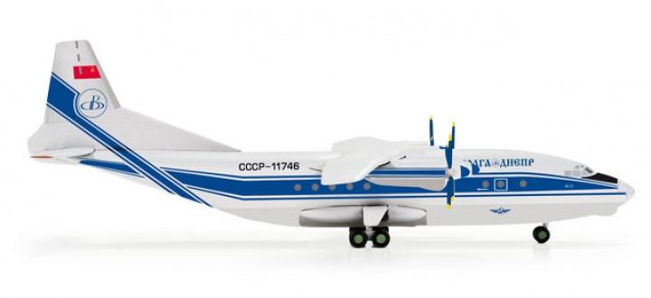 Volga Dnepr Airlines Antonov AN-12 555265 Scale 1:200