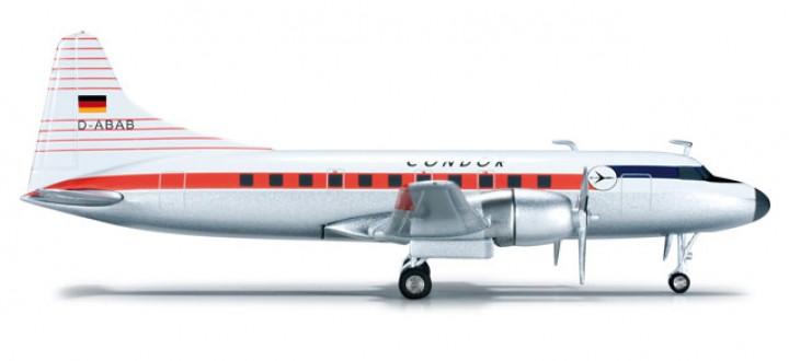 Condor Luftreederei Hamburg Convair CV-440   HE555418  Scale 1:200