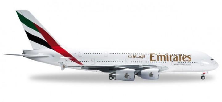 Emirates Airbus A380-800 Reg# A6-EOE Herpa 555432-002 Scale 1:200