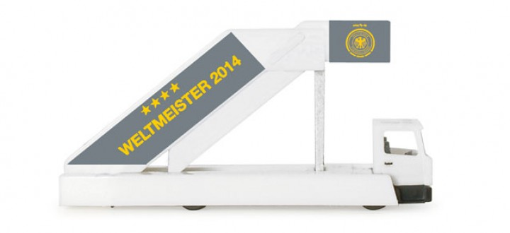 Herpa 1:200 Accesories  Herpa Passengers Stairs - Germany team Champions 556910 Item: HE556910 1:200 Scale