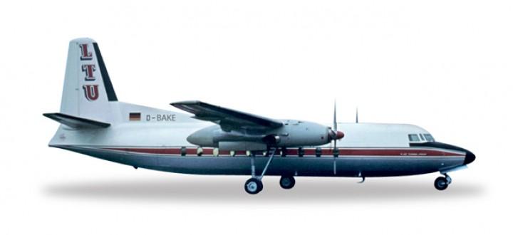 LTU Fokker F-27 Herpa 557047  Scale 1:200