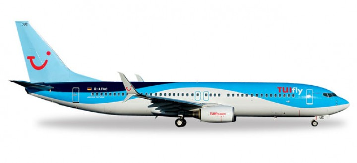Blended Winglets Tuifly Boeing 737-800 Herpa 557085 1:200