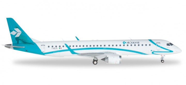 Air Dolomiti Embraer E-195 (Italy) Herpa 557115 Scale 1:200