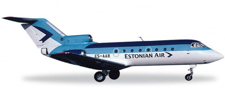 Estonian Air Yakovlev Yak-40 Reg# ES-AAR 557153   Scale 1:200