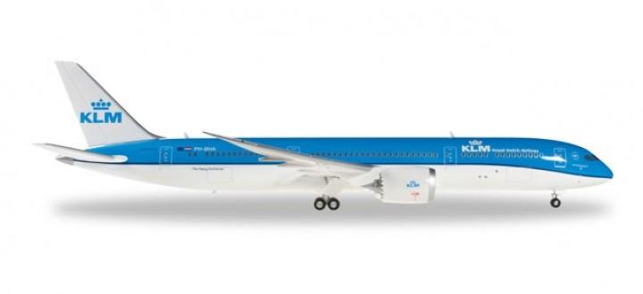 KLM Boeing 787-9 Dreamliner Reg# PH-BHA Herpa Wings 557450 Scale 1:200