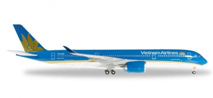 Vietnam Airlines Airbus A350XWB Reg# VN-A886  Herpa 557498 Scale 1:200