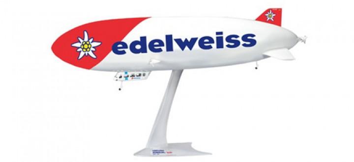 Edelweiss Zeppelin NT Herpa Wings HE557528 Scale 1:200