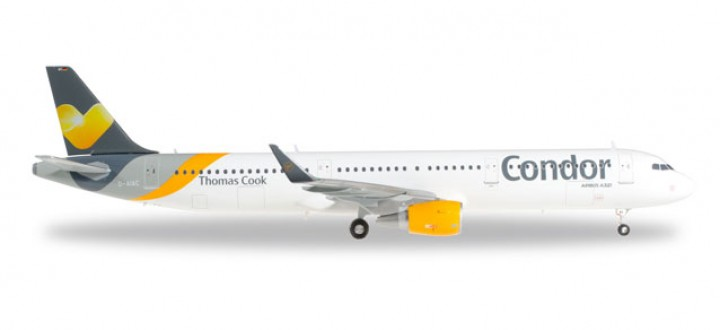 Condor/Thomas Cook Airbus A321 Herpa Wings 557689 Scale 1:200