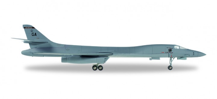 US Air Force Rockwell B-1B Lancer Georgia ANG 128th Bomb Squadron Robins Air Base 558181 1:200
