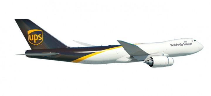 UPS Boeing 747-8F registration N605UP Herpa 558822 Scale 1:200