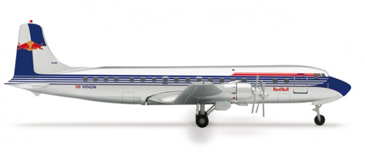 Flying Bulls Douglas DC-6B  1:400 HE562249