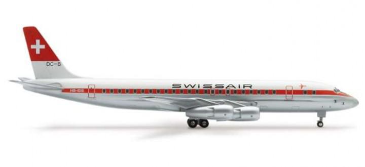 Swissair DC-8-53