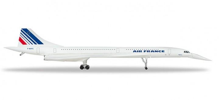 Air France Concorde F-BVFC Herpa Wings die cast 532839 scale 1:500
