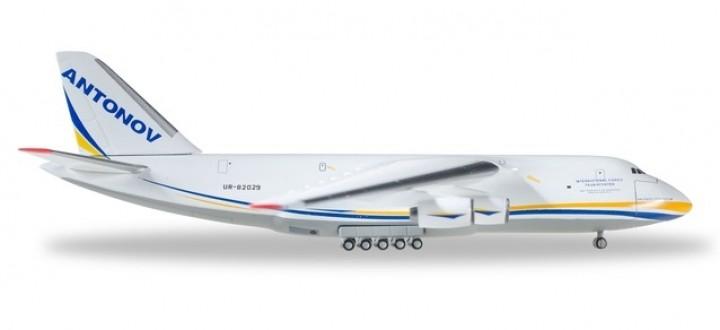 Antonov Airlines AN-124 Reg# UR-82029 Herpa 526777-002 Scale  1:500