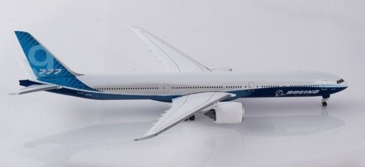 Blue House Boeing 777-9 777X Prototype livery Herpa 533133 scale 1:500