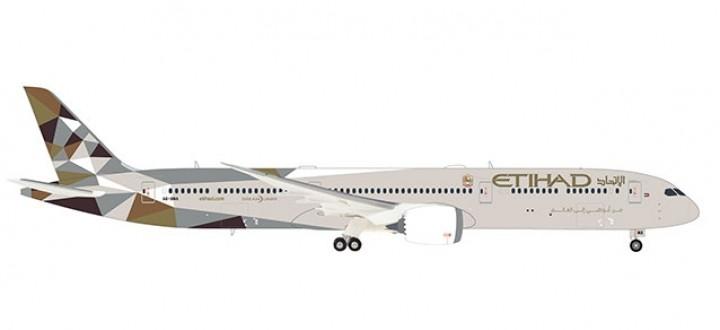 Etihad Boeing 787-10 Dreamliner Herpa 559676 scale 1:200