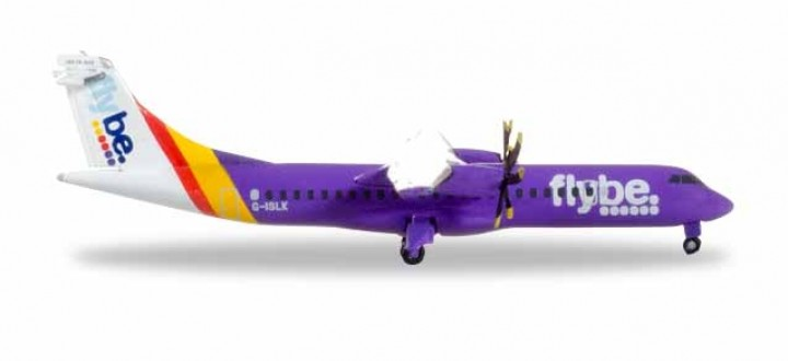 Flybe ATR-72-500 Registratiion G-ISLK Herpa Wings 531368 scale 1:500