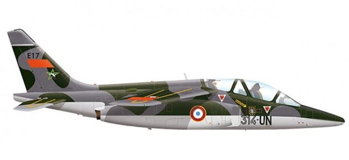 French Air Force Dassault-Breguet / Dornier Alpha Jet E - EAC 00.314 Herpa 580458 scale 1:72