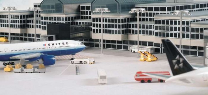 Herpa Airport Basic Set  Set 1:500 HE520362