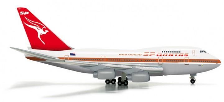 Qantas 747SP Old livery Herpa Wings die cast 523714 scale 1:500