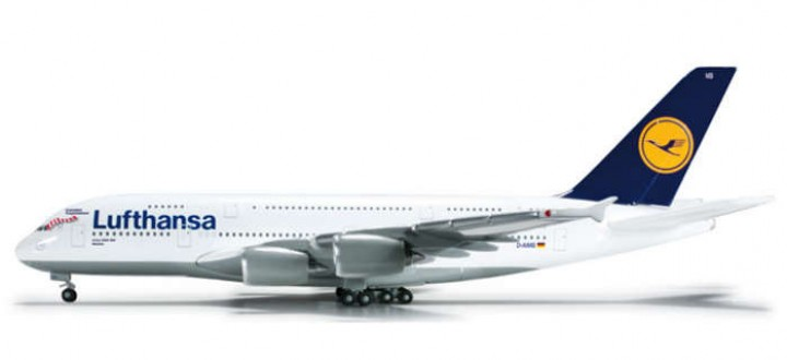 Lufthansa A380 Reg# D-AIMB Fc Bayern Munchen HE524575 1:500