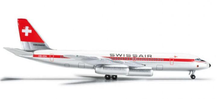 Swissair CV990 Reg# HB-ICA  Bern HE524599 1:500