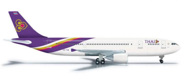 Thai A300-600Reg# HS-TAW Suranaree, Herpa HE524605 1:500