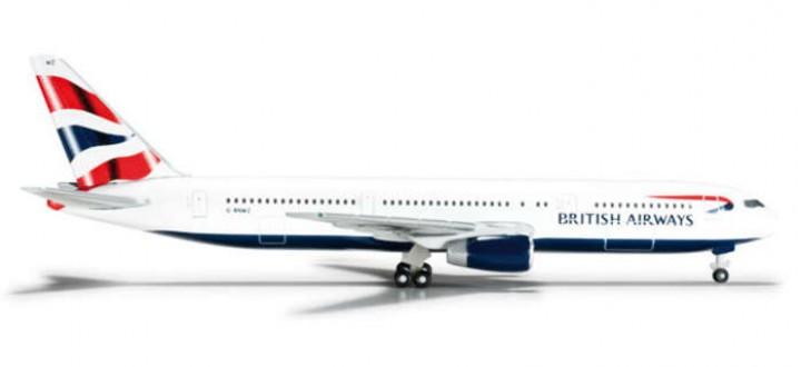 British Airways 767-300 Reg# G-BNWZ, Herpa HE526067 1:500