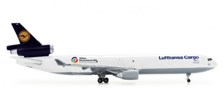 "Lufthansa Cargo MD-11F ""Germany's Relief""  REG# D-ALCC 1:500"