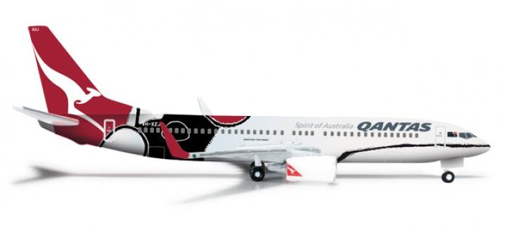 Qantas 737-800 Mendoowoorrji Herpa HE526418 1:500