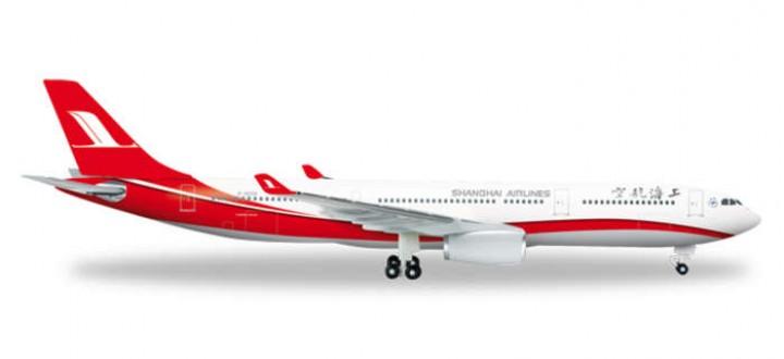 HE526586   shanghai airlines a330 eztoys.com 526586