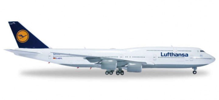 Lufthansa Boeing 747-8i Intercontinental Reg# D-ABYL Herpa Wings HE553759-003 Herpa 1:200