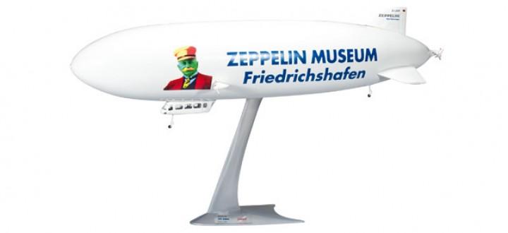 """Zeppelin Museum  NT """"175 Jahre Graf Zeppelin"""" 1:200"""