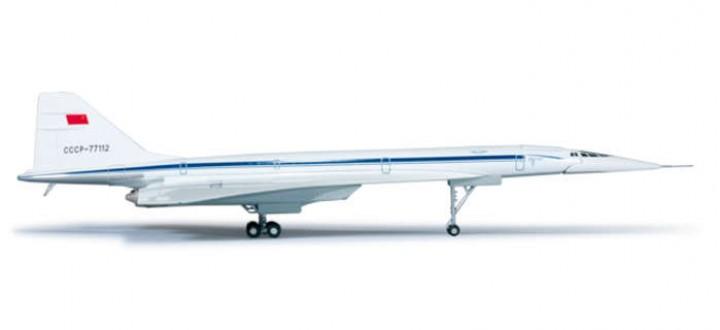 Aeroflot TU144D Museum Sinsheim, HE556323 1:200