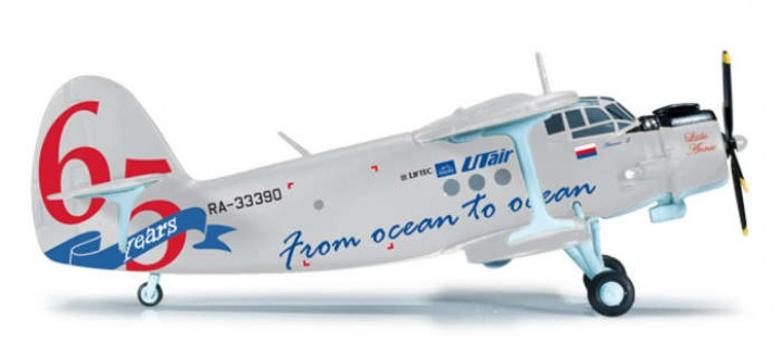 Utair AN2 1/200 From Ocean To Ocean, Herpa HE556361 1:200