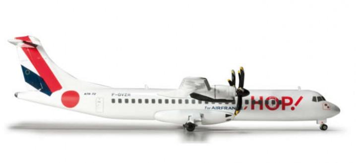 HOP! ATR 72-500 Herpa Wings HE556392 Scale 1:200