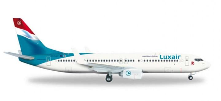 HE556590   herpa 737 luxair